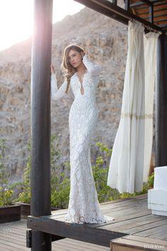 julie vino bridal 2014 2015 daniella long sleeve wedding dress