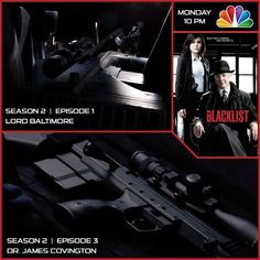 THE BLACKLIST One of the hottest shows on TV features the most compact sniper rifle on the planet. Check out the Blacklist tonight on NBC and catch the Desert Tech SRS in action.