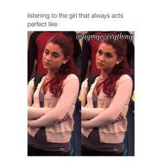 Ariana Grande Throwback To Victorious Meme