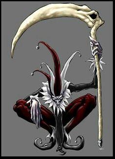 this is Jester, the deadly Joker. O Joker, Joker Card, Joker And Harley, Jester Tattoo, Clown Tattoo, Evil Clowns, Scary Clowns, Dark Fantasy Art, Fantasy Artwork