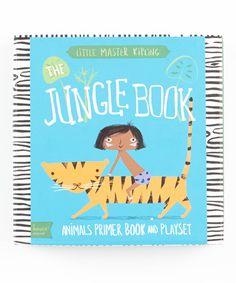 The Jungle Book Book Play Set #zulily #zulilyfinds