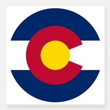colorado flag bumper sticker