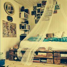 Wood Pallet Bed Design Ideas                                                                                                                                                                                 More