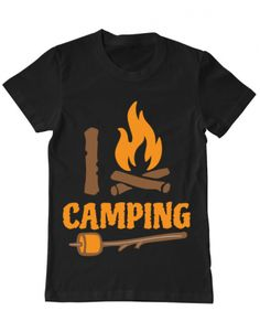 Tricou Tricou I love Camping Camping, Mens Tops, T Shirt, Fashion, Campsite, Supreme T Shirt, Moda, Tee Shirt, Fashion Styles