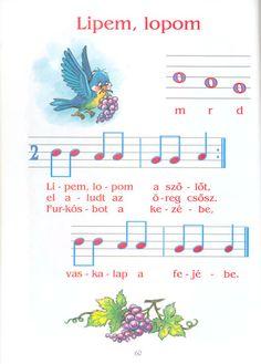 Zsuzsi tanitoneni - Google+ Music For Kids, Kindergarten Teachers, Music Theory, Album, Preschool Activities, Flute, Sheet Music, Lettering, Education