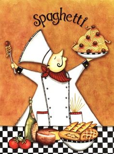 Chef Spaghetti (Sydney Wright)