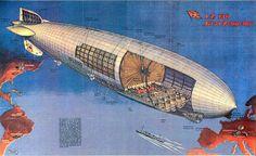 """https://flic.kr/p/bn22Vj   Zeppelin   Call No.: 12_00084 Corp. Name: Zeppelin Subject: Zeppelin Notes: """"""""LZ 130 Graf Zeppelin"""""""" Description: 8 x 10 Color Illustration"""