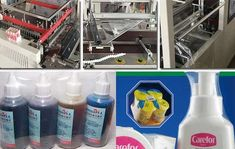 High performance shampoo bottle shrink packaging machine is consisted of heat shrinking machine and sealing cutting machine. The cutlery shrink wrap machine adopts Bottle Box, Spray Bottle, Wrapping Machine, Shrink Film, Packaging Machine, Shrink Wrap, Cleaning Supplies, Shampoo, Packing