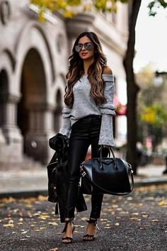 Your Ultimate Guide To Fall's Street Style Looks 2018 Classy Fall Outfits, Casual Outfits, Mode Outfits, Fashion Outfits, Womens Fashion, Fashion Styles, Fashion Blogger Style, Instagram Outfits, Up Girl