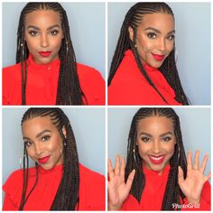 71 most popular ideas for blonde ombre hair color - Hairstyles Trends Black Girl Braids, Braids For Black Hair, Girls Braids, Braids For Black Women Cornrows, Braided Hairstyles For Black Women, African Braids Hairstyles, Protective Hairstyles, Pelo Rasta, Pelo Afro