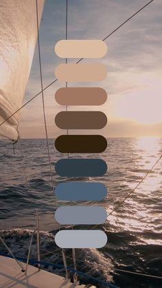 Colour Pallete, Colour Schemes, Color Combos, Pantone Colour Palettes, Pantone Color, Sea Colour, Aesthetic Videos, Behr, Wedding Color Schemes