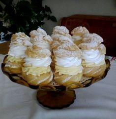 Prăjitura din copilarie Choux à la crème, extraodinar de bună si foarte simplu de făcut • Gustoase.net