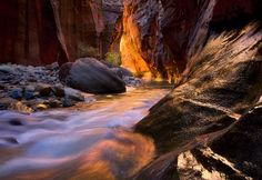 The Narrows in Zion is one of the most photographed places in the world, and for good reason. USA