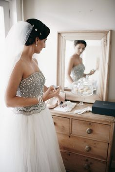 Collette Dinnigan wedding gown