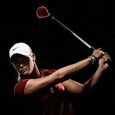 Suzann Pettersen gives the look of a recent 2x winner. Wish I looked that good playing golf.  #CMEGroupLPGA