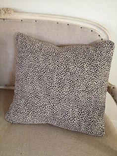 """Luxurious Leopard 20"""" pillow cover on Etsy, $38.00"""