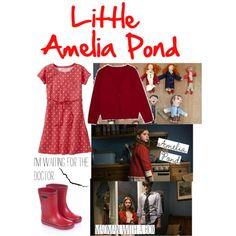 Little Amelia Pond Children's Outfit Doctor Who Outfits, Doctor Who Cosplay, Doctor Who Series 5, Halloween 2016, My Princess, Amelia, Pond, Dress Up, Style Inspiration