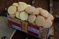 Galletas de mantequilla :: Máslové sušenky Biscuit Cookies, No Bake Cookies, Le Chef, Crinkles, Christmas Cookies, Mousse, Food To Make, Cereal, Food And Drink