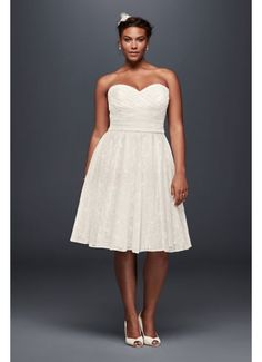 reception dress | Plus size wedding reception dresses for the ...