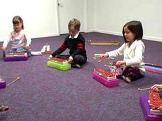 """Kindermusik - Young Child Semester 1: """"Mallets are Resting"""""""