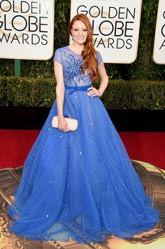 Barbara Meier ~ All The Looks From The 2016 Golden Globe Awards   ELLE.com
