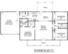 House Plan The JAMES C