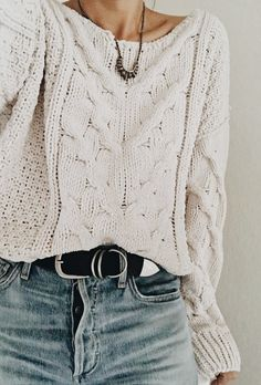 I actually had this sweater in high school.