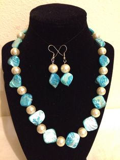 A personal favorite from my Etsy shop https://www.etsy.com/listing/228605144/necklace-set