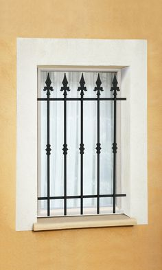 Window Grill Design Modern, Grill Door Design, Window Design, Iron Windows, Iron Doors, Balcon Grill, Window Security Bars, Iron Window Grill, Grill Gate