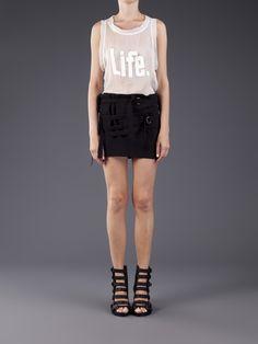 Ann Demeulemeester Strappy Mini Skirt