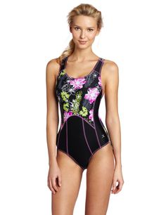 Danskin #Tri Bathing Suit ~ No need to be dull when your #training for a #triathlon.  Make'm look twice! New Fashion Trends, Fashion News, Fashion Beauty, Style Fashion, Best Swimsuits, Women Swimsuits, Triathlon Swimsuit, Triathlon Clothing, Swimwear Fashion