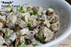 Vegan Ranch Potato Salad (Nut-free, oil-free, soy-free) by http://TheVegan8.com