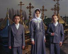 The condition of displaced Ukrainians, documented by Mark Neville