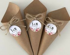 Carta Kraft - Lilly is Love Wedding Favours, Diy Wedding, Diy Crafts For Gifts, Paper Crafts, Paper Cones, Wedding Confetti, Flower Boxes, Gift Packaging, Vintage Gifts