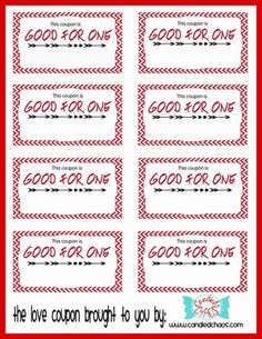 love and a little bit naughty coupon book valentines gift