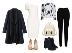 """""""♡"""" by iojikxamiak ❤ liked on Polyvore featuring EAST, Monsoon, Michelle Mason and Gianvito Rossi"""