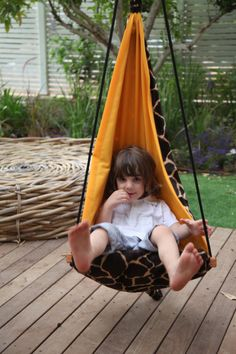 Free ShippingHang Mini Giraffe children's by hangoverHammocks, $129.00