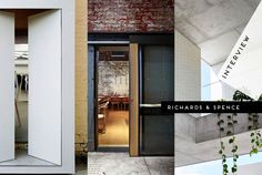 Operating in their home town of Brisbane, Adrian Spence and Ingrid Richards co-founded Richards & Spence in 2008 with the aim of choreographing vibrant public spaces from private commissions. A ...