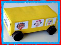 Rosa Parks Bus Craft and Wheels on the Bus Song