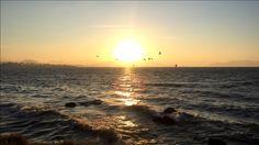 Pôr do Sol Beira Mar Norte