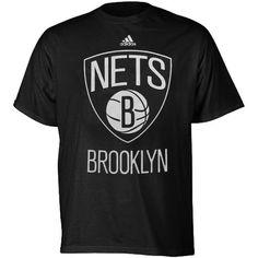 Brooklyn Nets adidas Youth Primary Logo T-Shirt - Black - $19.99