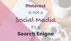 Pinterest is NOT a social media its a search engine. Say that again? I know...read it and find out why!
