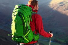 Osprey Anti Gravity Suspension Back Pack Makes Hiking Slightly Less Of A Pain In The Ass!