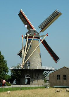 Flour mill De Onderneming, Wissenkerke, the Netherlands
