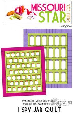 I Spy Jar Quilt Pattern from Missouri Star Quilt Co