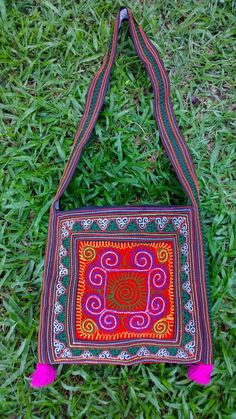 A personal favourite from my Etsy shop https://www.etsy.com/sg-en/listing/247654319/boho-hmong-embroidery-crossbody-bag