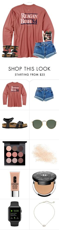 """"" by sassysouthernprep99 ❤ liked on Polyvore featuring Rowdy Gentleman, Birkenstock, Ray-Ban, MAC Cosmetics, Eve Lom, Clinique, Kat Von D and Kendra Scott"