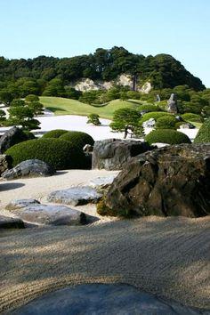 Adachi Museum garden, Japan