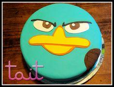 #Tortas #Cake #PerryElOrnitorrinco #TaitEventos