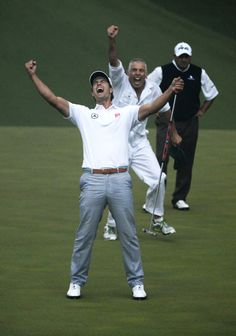 Adam Scott win at Augusta National - 2013 PGA Tour - The Masters